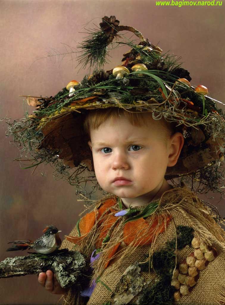 Как сделать детский костюм лешего 79